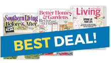 Merveilleux 6 Months Of Southern Living® (6 Issues) 1 Year Of Better Homes U0026 Gardens®  (12 Issues) 1 Year Of Martha Stewart Living (10 Issues)