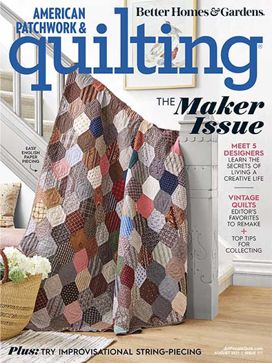 American Patchwork & Quilting June 4, 2021 Cover