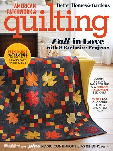American Patchwork & Quilting August 6, 2021 Cover