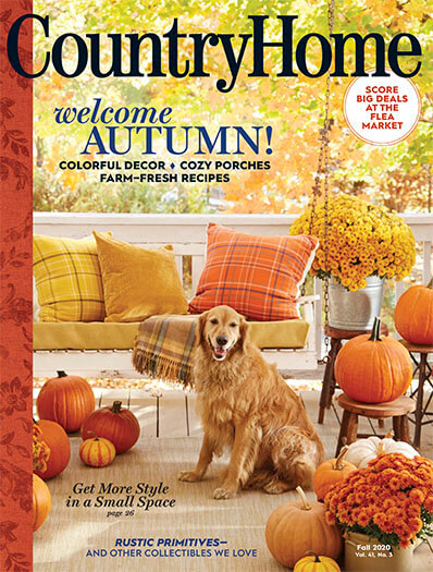 Country Home August 7, 2020 Cover