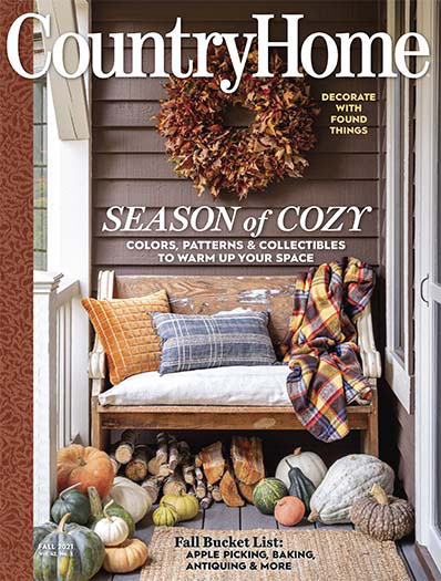 Country Home August 6, 2021 Cover