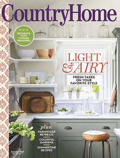 Country Home May 14, 2021 Cover