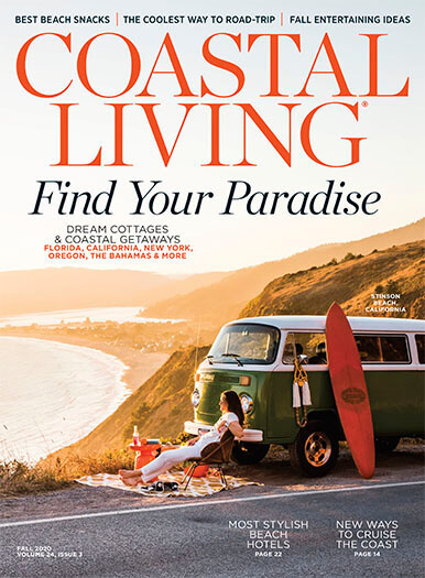 Coastal Living August 21, 2020 Cover