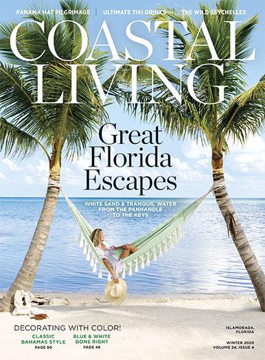 Coastal Living December 4, 2020 Cover