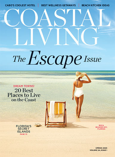 Coastal Living March 13, 2020 Cover