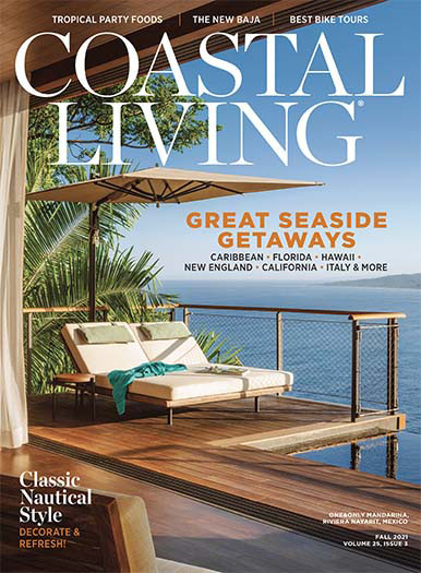 Coastal Living August 27, 2021 Cover