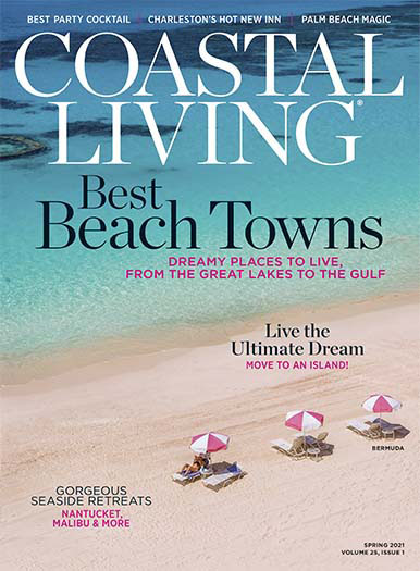Coastal Living March 5, 2021 Cover