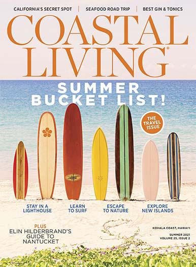Coastal Living June 11, 2021 Cover