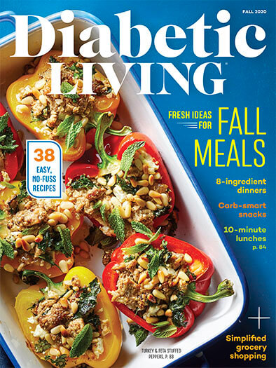 Diabetic Living August 7, 2020 Cover