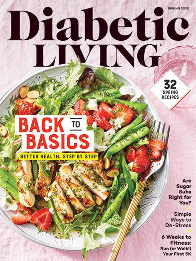 Diabetic Living February 7, 2020 Cover