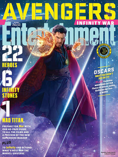 Entertainment Weekly March 16, 2018 Cover