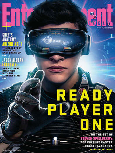 Entertainment Weekly March 30, 2018 Cover