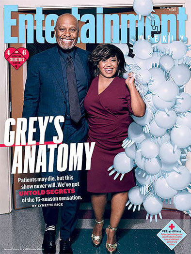 Entertainment Weekly September 28, 2018 Cover
