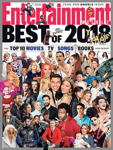 Entertainment Weekly December 14, 2018 Cover