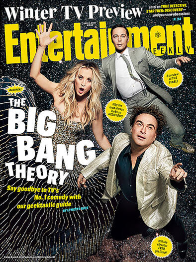 Entertainment Weekly January 11, 2019 Cover