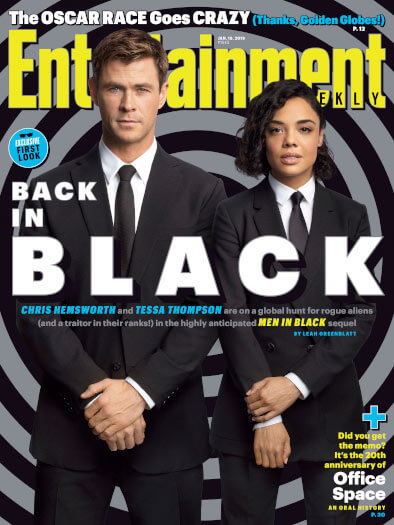 Entertainment Weekly January 18, 2019 Cover