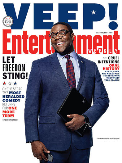 Entertainment Weekly March 29, 2019 Cover
