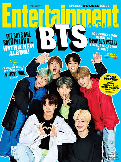Entertainment Weekly April 5, 2019 Cover