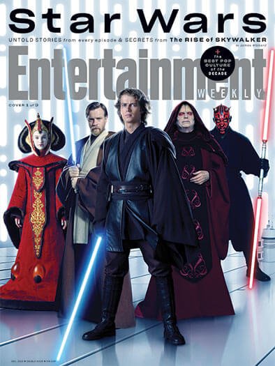 Entertainment Weekly December 1, 2019 Cover