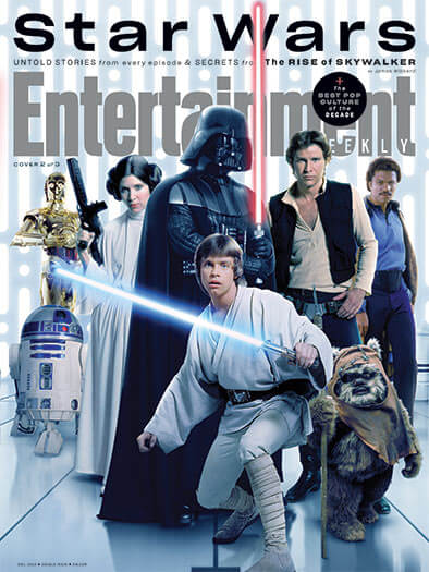 Buy Entertainment Weekly S 2019 12 01 Star Wars Original Trilogy Issue