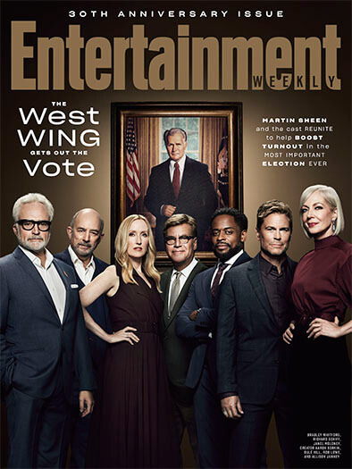 Entertainment Weekly September 1, 2020 Cover