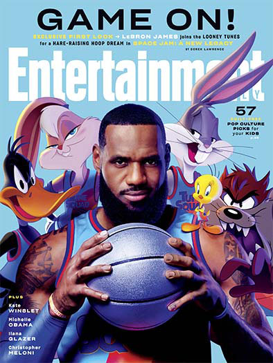 Entertainment Weekly April 1, 2021 Cover