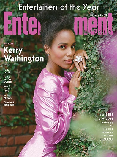 Entertainment Weekly January 1, 2021 Cover