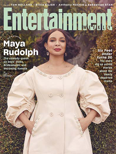 Entertainment Weekly March 1, 2021 Cover