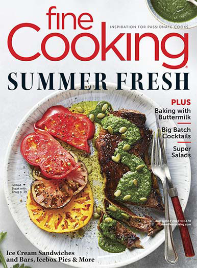 Fine Cooking May 28, 2021 Cover