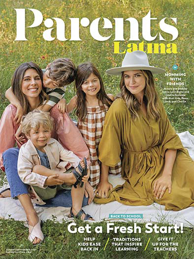 Parents Latina August 13, 2021 Cover