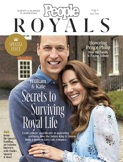 People Royals September 10, 2021 Cover