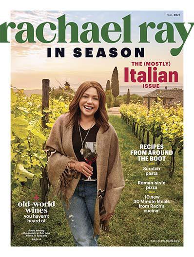 Rachael Ray In Season  August 13, 2021 Cover