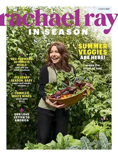 Rachael Ray In Season  May 14, 2021 Cover