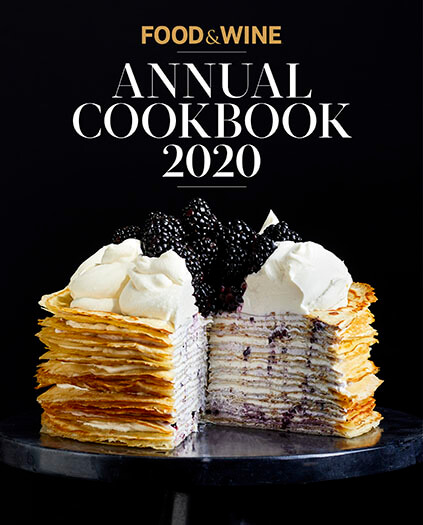Cover of Food & Wine Annual Cookbook 2020