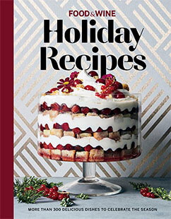 Cover of Food & Wine Holiday Recipes
