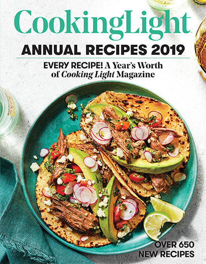 Cover of Cooking Light: Annual Recipes 2019