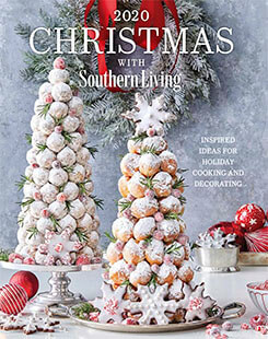 Cover of 2020 Christmas with Southern Living