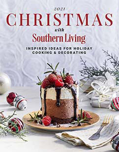 Cover of 2021 Christmas with Southern Living