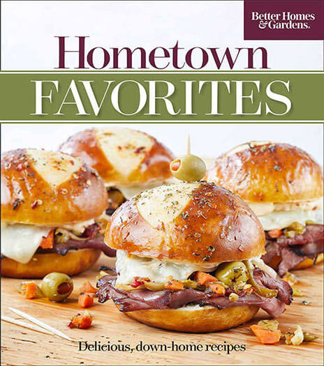 Cover of Better Homes & Gardens Hometown Favorites Volume 9