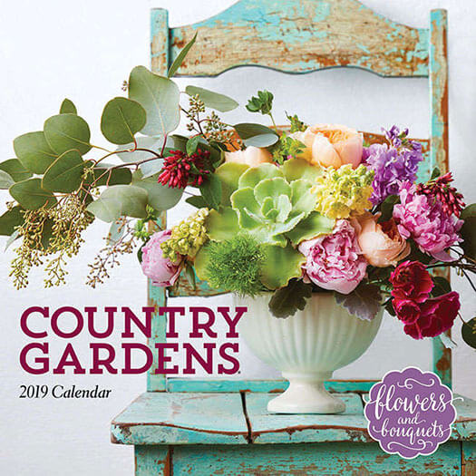 Cover of Country Gardens 2019 Calendar
