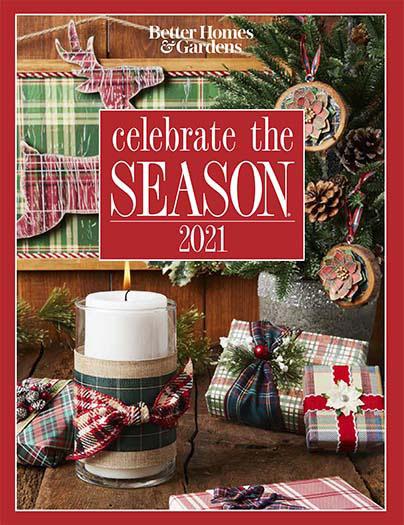 Cover of Better Homes & Gardens Celebrate the Season 2021