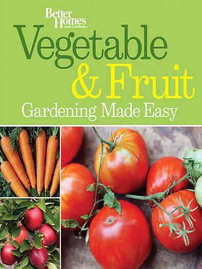 Cover of Vegetable & Fruit Gardening Made Easy