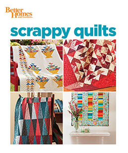 Cover of Better Homes & Gardens Scrappy Quilts