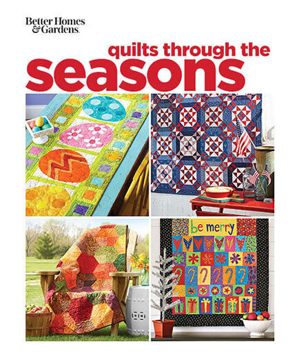 Cover of Better Homes & Gardens Quilts Through the Seasons