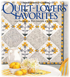 Cover of Quilt Lovers' Favorites Volume 18