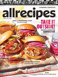 Latest issue of Allrecipes