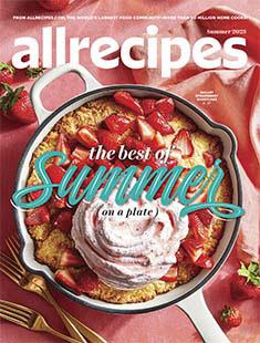Latest issue of Allrecipes