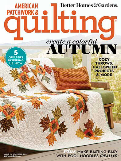 Subscribe to American Patchwork & Quilting
