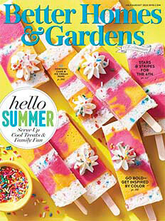 Latest issue of Better Homes and Gardens