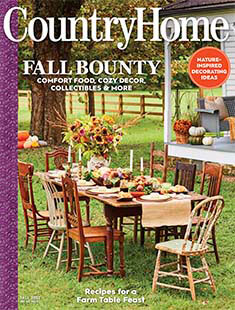 Latest issue of Country Home